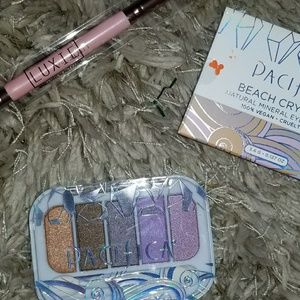 NEW Pacifica eyeshadow & Luxie Brush